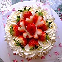 玫瑰草莓奶油慕斯蛋糕6寸(含蛋糕烤制各种问题详解)