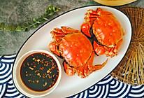 #肉食者联盟# 清蒸大闸蟹(黄不流腿不散肉质鲜嫩有技巧)的做法