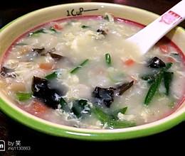 蛤蜊疙瘩汤的做法