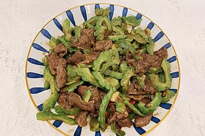 ‼️广式苦瓜炒牛肉㊙️粤菜师傅亲授