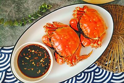 #肉食者联盟# 清蒸大闸蟹(黄不流腿不散肉质鲜嫩有技巧)