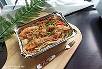 锡纸盒-海鲜粉丝煲ACA ET20电陶炉的做法