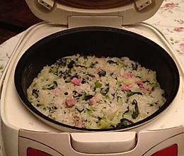 冬天里,菜根香-咸肉菜饭的做法