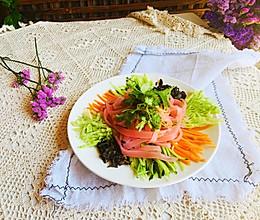 #爽口凉菜,开胃一夏!#自制西红柿凉皮的做法