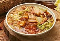 【猪肉炖粉条】猪肉粉条大白菜,家家烧人人爱!的做法