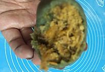 咸蛋黄肉松青团的做法