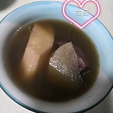沙葛赤小豆淮山陈皮瘦肉汤
