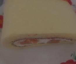 黄桃奶油蛋糕卷的做法