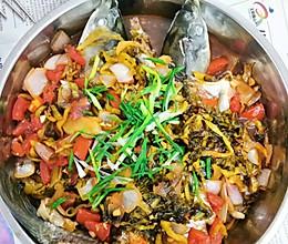 酸菜.大盘鱼的做法