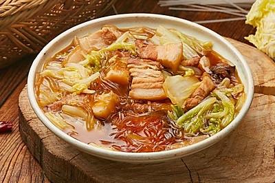 【猪肉炖粉条】猪肉粉条大白菜,家家烧人人爱!
