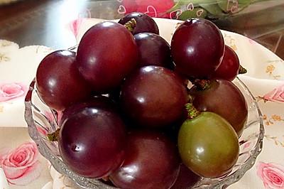 快速洗净葡萄的妙招