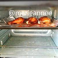 秘制烤大鸡腿#德国Miji爱心菜#的做法图解12