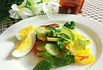 炫彩蔬菜沙拉#丘比沙拉汁#的做法