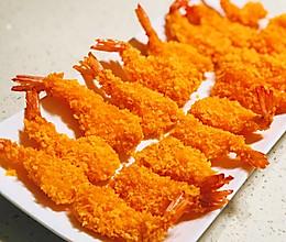 #中秋宴,名厨味#黄金凤尾虾的做法