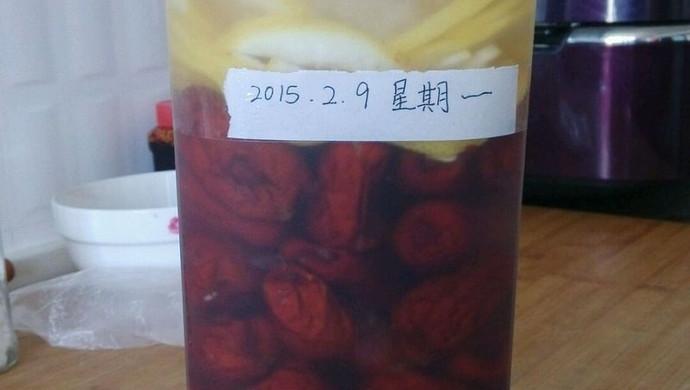 柠檬红枣果醋
