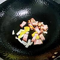 【孕妇食谱】腊肉炒茶树菇,香味扑鼻,味道鲜美超下饭~的做法图解6