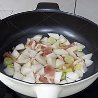鸭脯肉萝卜汤的做法图解4
