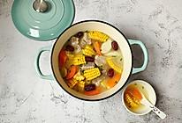 #一道菜表白豆果美食#连吃三碗的玉米排骨汤的做法