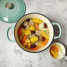 #一道菜表白豆果美食#连吃三碗的玉米排骨汤