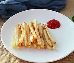 少油版薯条的做法