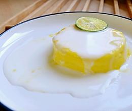 一分钟酸奶蛋糕__微波炉懒人版的做法