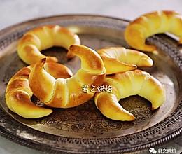好看好吃的金牛角软面包的做法