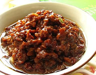 秘制杏鲍菇酱的做法
