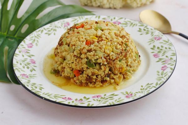 #秋天怎么吃#炒菜花米的做法