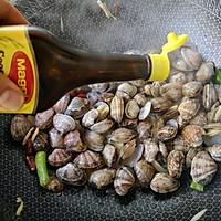 辣炒花蛤的做法图解7