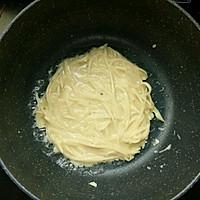 超快手土豆丝饼的做法图解3