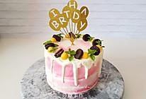 #精品菜谱挑战赛#小清新生日蛋糕的做法