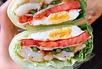 减肥人士的蔬菜三明治的做法