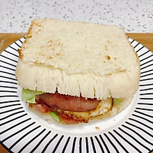 无芝士早餐三明治