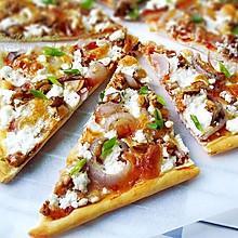 -核桃洋葱披萨#补脑美食汇#