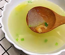 冬瓜虾米汤的做法