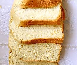 面包机版土司的做法