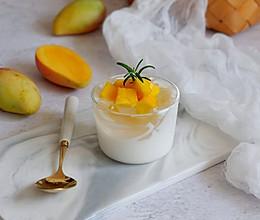 芒果酸奶冰粉粉的做法