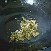 苦瓜雪菜炒肉的做法图解5