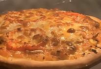 #美食视频挑战赛#超好吃的薄底披萨的做法