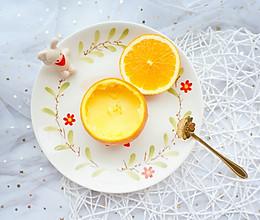 橙香蒸蛋的做法
