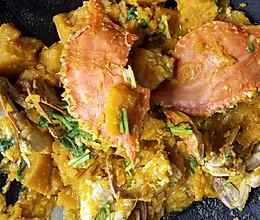 螃蟹炖南瓜的做法