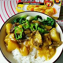 #百梦多圆梦季#咖喱土豆牛腩饭