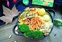 咖喱海鲜火锅#浓汤宝火锅英雄争霸赛#的做法