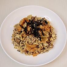 减脂泡菜牛肉三色藜麦蛋炒饭