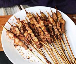 #晒出你的团圆大餐# 烤箱版烤羊肉串的做法