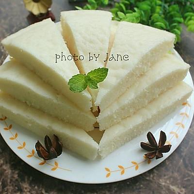 奶香白糖糕