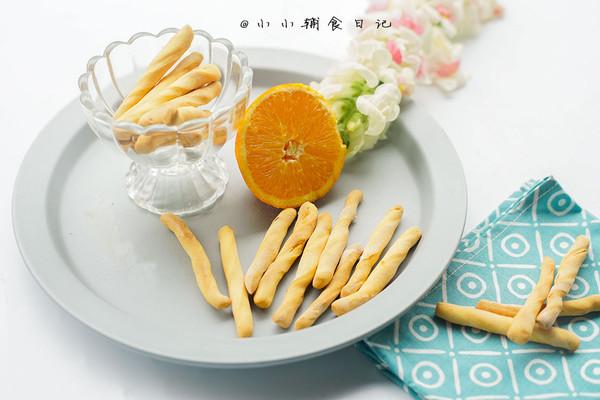 橙香无油无糖磨牙棒的做法