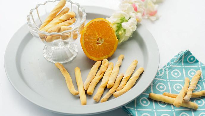 橙香无油无糖磨牙棒