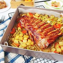 #母亲节,给妈妈做道菜# 经典风味烤猪肋排