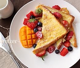 让一天都明媚起来的早餐—法式吐司的做法